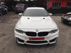 Bmw 3 series F32 M4 style bumper kit conversion