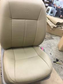 Toyota vios semi leather seat cover