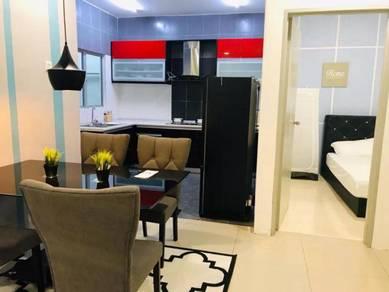 Bilik Muslim PREMIUM di MUTIARA ANGGERIK Free WIFI & Lengkap perabut