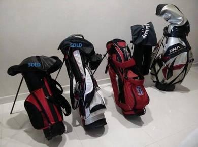 3 Pre-Love Golf Bags