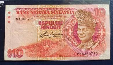 Wang Kertas $10 Siri 5 Aziz Taha PN4360772