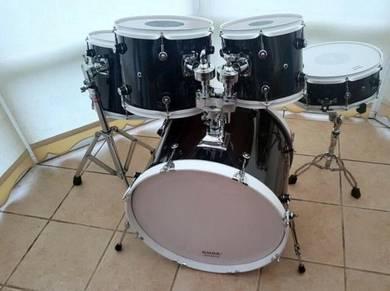 Tamburo Ash 400 Series 5 Piece Drum kit in Custom