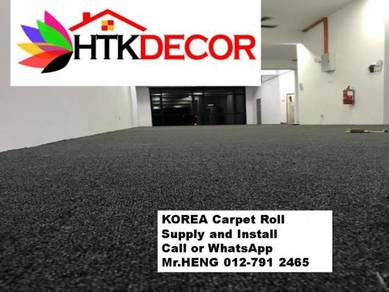 Specialists installation of Carpet Rolls 123XK