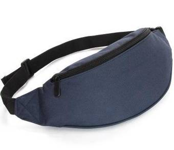 RAX Sports Pouch Waist Men Jogging Bag (Dark Blue)
