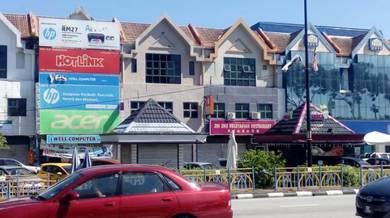 3-storey shop house jalan tun ismail Kuantan