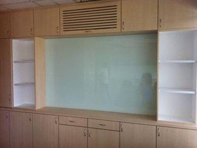 WALL COLOUR GLASS l dinding kaca warna