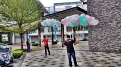 Balloon Helium 50pcs Self Pickup 00072