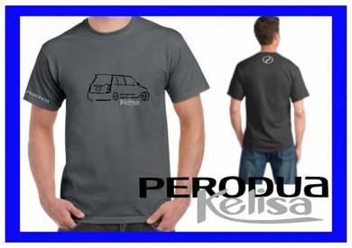 Tshirt Baju PERODUA KELISA P4 TSV Siap Pos Laju