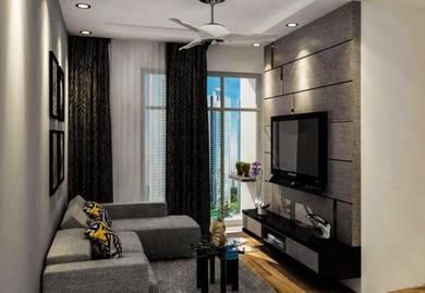 Tv cabinet,wardrobe,kitchen cabinet setia alam