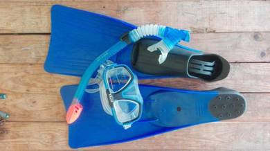 INTEX Reef Rider Kids Snorkeling Set