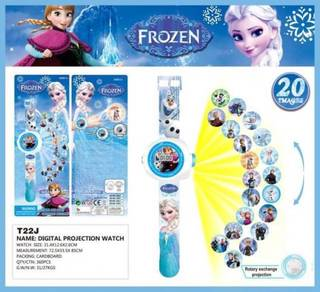 3D Digital Projection Watch Jam Tangan FROZEN ELSA