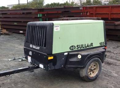 Sullair diesel engine compressor 185