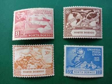 Stamp North Borneo UPU 1949 B225