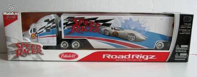 Jada Toys Road Rigz Peterbilt Speed Racer White
