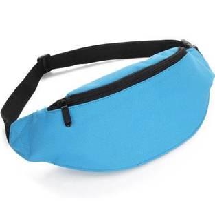 RAX Sports Pouch Waist Jogging Bag (Light Blue)