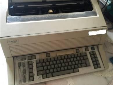 Canon AP8000 electronic typewriter