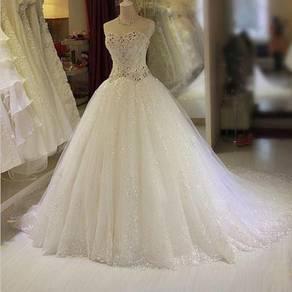 White wedding gown dress bridal prom dinner RB0070