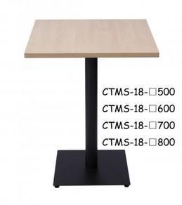 Melamine Cafe Table Square Top & P.Coat Square Leg