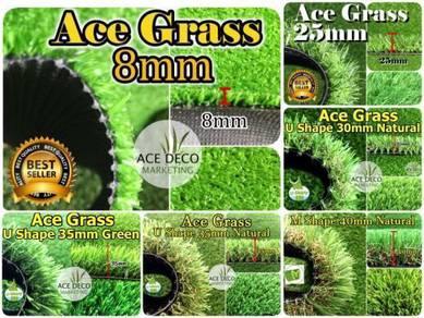 U35mm Natural Artificial Grass Rumput Tiruan 07