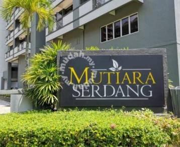 ZERO D/PAYMENT Mutiara Serdang Condo Near MRT Seri Kembangan Serdang