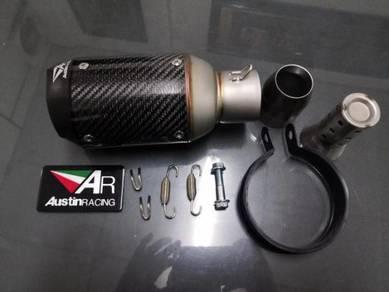 Ekzos exhaust austin racing new vision 3