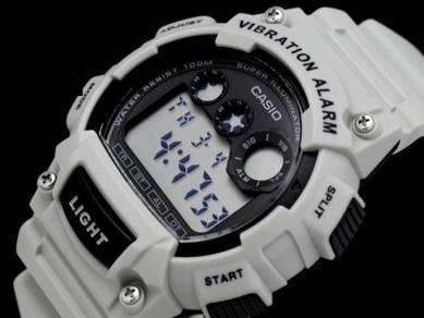 Watch- Casio Vibrate Alarm W735-8A2 -ORIGINAL