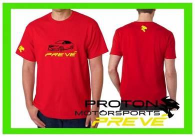 Tshirt Baju PROTON PREVE P8 TSV Siap Pos Laju