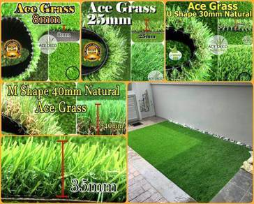 Artificial Grass Serat U/M Rumput Tiruan Carpet 08