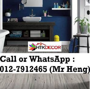 Modern Design PVC Vinyl Floor - With Install 33TK