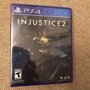 NEW AND SEALED PS4 Game Injustice 2 R-ALL