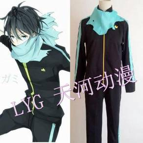 Noragami Yato sportwear cosplay costume