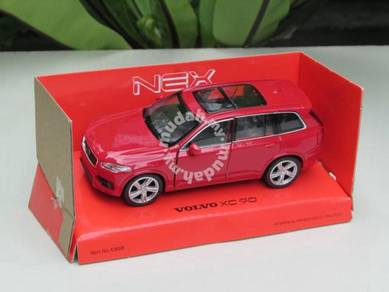 Welly 11CM 2015 Volvo XC 90 RED