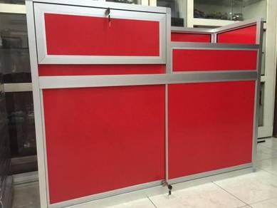 Aluminium Display Counter & cabinet unit