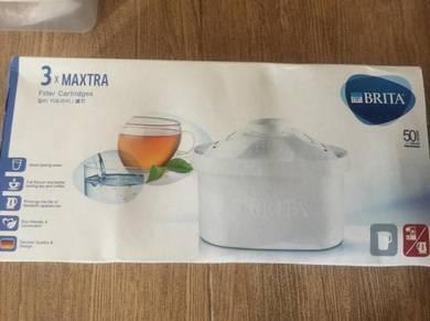 Brita Maxtra Water Filter Cartridge 3x (New)