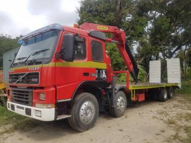 Self Loader Volvo FM12 with crane winch 12 tyre