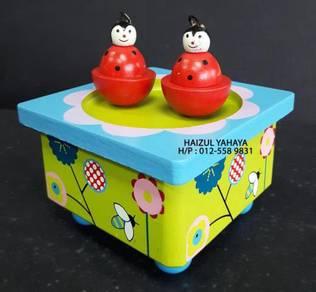 Ladybug/Ladybird Music Box2 (New Old Stock)