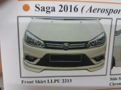 Proton saga vvt 2016 aerosport bodykit with paint