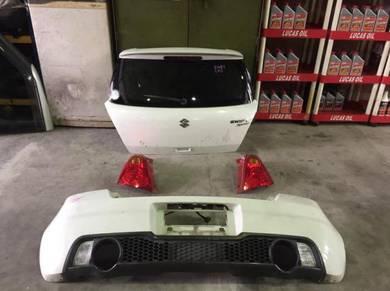 Suzuki swift sport rear body part