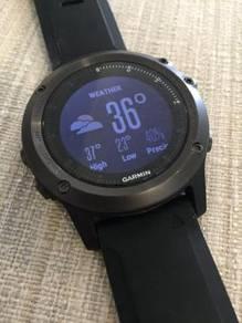 Jam Garmin Fenix 3HR Sapphire Multi Sport GPS