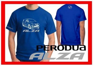 Tshirt Baju PERODUA ALZA P1 TSV Siap Pos Laju