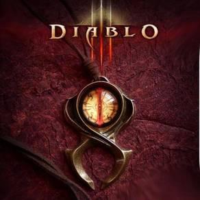 Blizzard official Diablo 3 alloy necklace