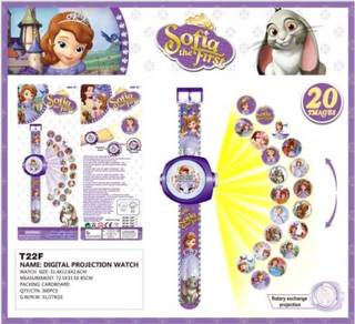 3D Digital Projection Watch Jam - SOFIA THE FIRST