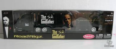 Jada Toys Road Rigz Peterbilt The Godfather Black
