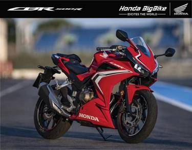Honda CBR500R ABS 19 Free Gift Items With Exhaust