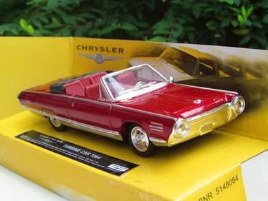 New RaY 1-43 Classics Car Chrysler Turbine 1964