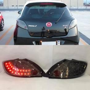Mazda 2 08-13 Led Tail Lamp Smoke Taiwan
