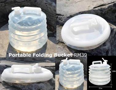 Portable Folding Water PVC Cloth Bag Bucket