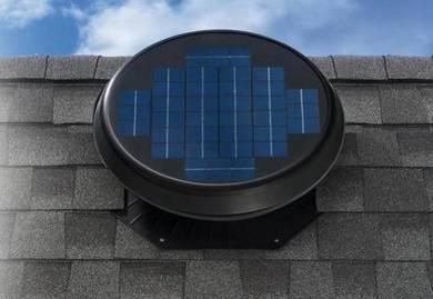 FA 15P-MK Solar Powered / Wind Turbine Ventilator