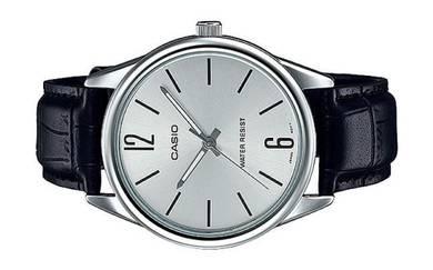 Casio Men Analog Leather Watch MTP-V005L-7BUDF