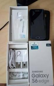 Samsung Galaxy S6 Edge 64GB Sapphire Black